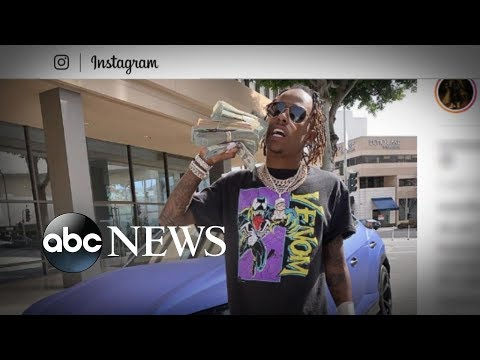 Rapper robbed at Hollywood recording studio