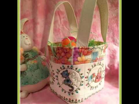 New Life Easter Basket 4x4 5x5 6x6 In The Hoop Machine Embroidery Design