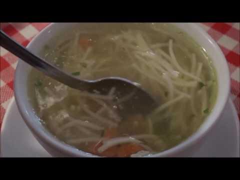 Traditional Polish food - chicken soup Rosół