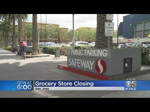 San Jose Residents Concerned With Planned Closure Of Downtown Safeway