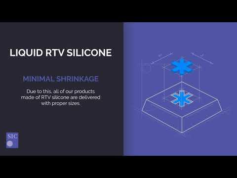 Liquid RTV silicone as rubber manufacturing