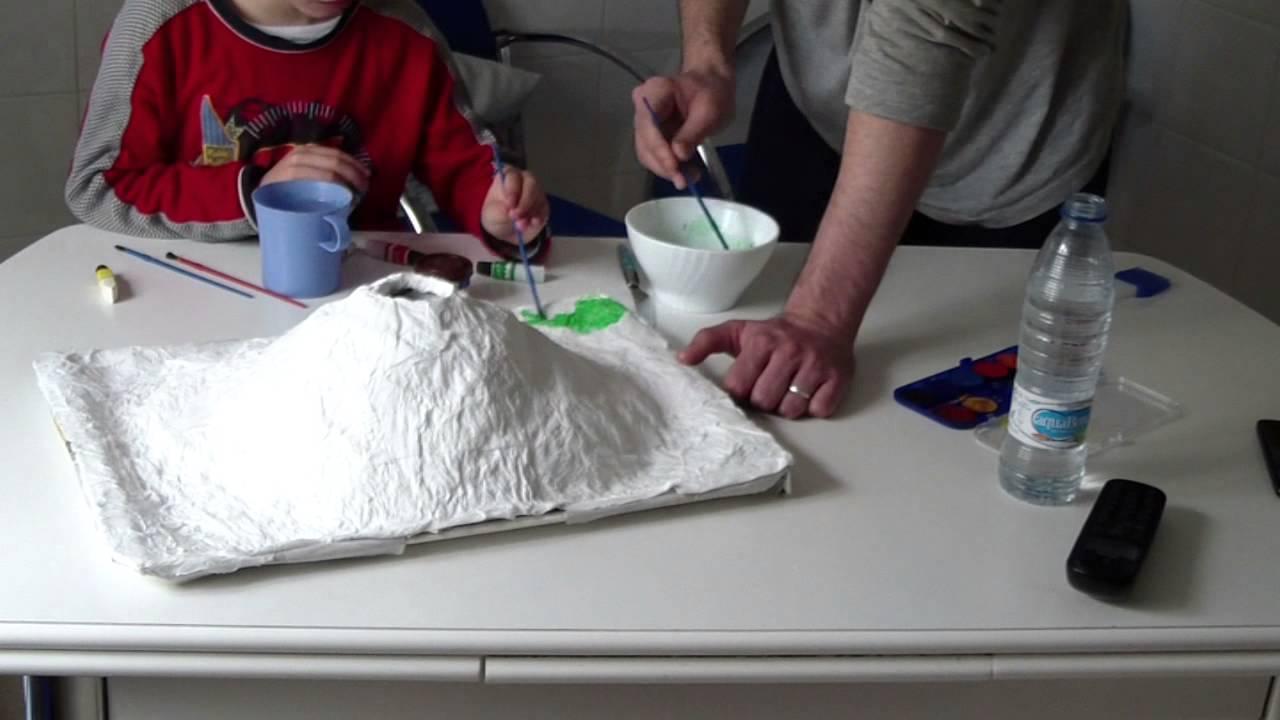 Como Hacer Un Proyecto De Volcan