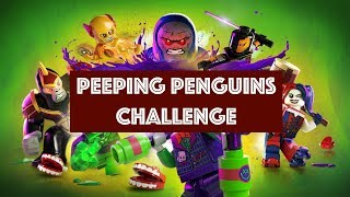 Lego DC Super Villains – Peeping Penguins Challenge - Find all Security Camera