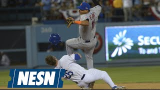 Chase Utley's Vicious Takeout Slide On Ruben Tejada Met With Criticism