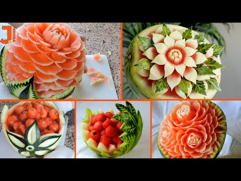 WATERMELON CARVING for