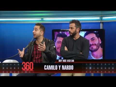 Camilo y Nardo en #360yvosTV: Tyago Griffo sorprendió a los comediantes