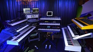 geoff downes keyboard solo gravitas tour