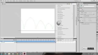 2D Animation - Motion Tween Bouncing Ball - Adobe Flash CS6