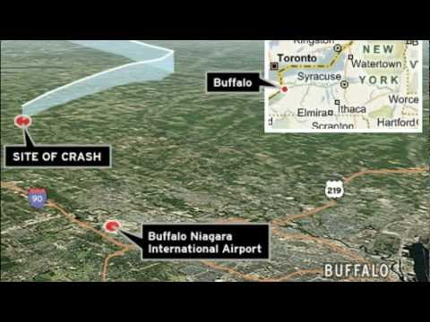COLGAN Air CRASH Flight 3407 Continental Connection Bombardier Dash-8 Q400 2009 NTSB ATC Audio