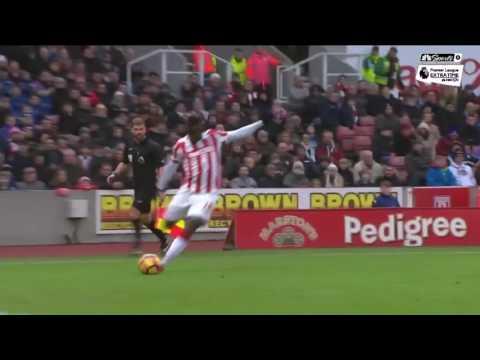 Stoke City handle Burnley 2-0