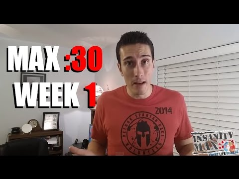 INSANITY Max 30 Week 1 - I Didn't Know This Would Happen!