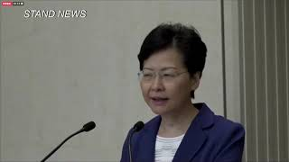 'When will you die?' Hong Kong leader grilled at press conference