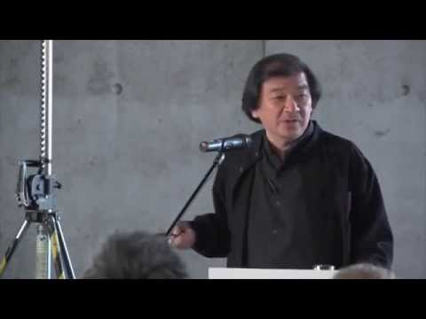 Shigeru Ban at the Vitra Design Museum - 02.10.2014