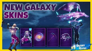 NYA GALAXY SKINS UTE + FULL GALAXY SET GAMEPLAY | FORTNITE PÅ SVENSKA!