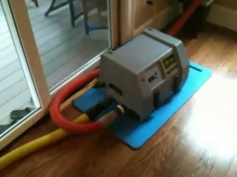 How to Save a Water Damaged Kitchen Hardwood Floor - YouTube