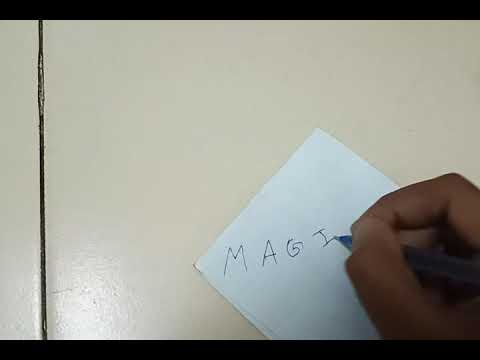 How to fill refill in pen of waste paper