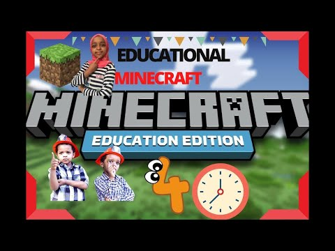 Five Hours of Minecraft education edition   Fun and educational game for kids   Learn how to play
