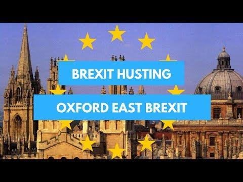 Brexit Husting Oxford East Brexit
