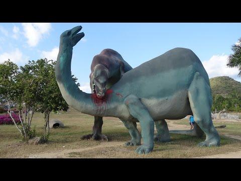Prehistoric valley, valle de la prehistoria, Baconao Park, Santiago De Cuba 2016  HD