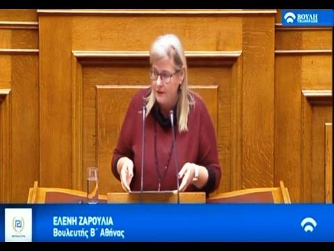 Ελένη Ζαρούλια: Οι Έλληνες Εθνικιστές αντιμάχονται στην κατάπτωση της Ελληνικής Παιδείας