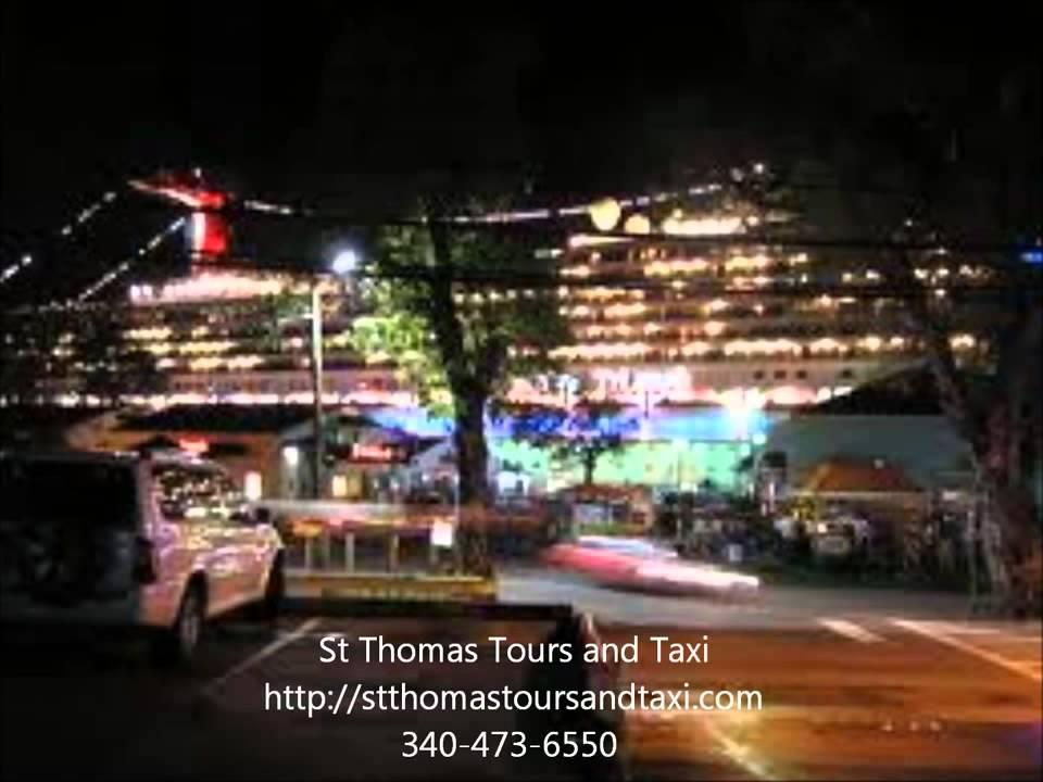 St Thomas virgin island taxi