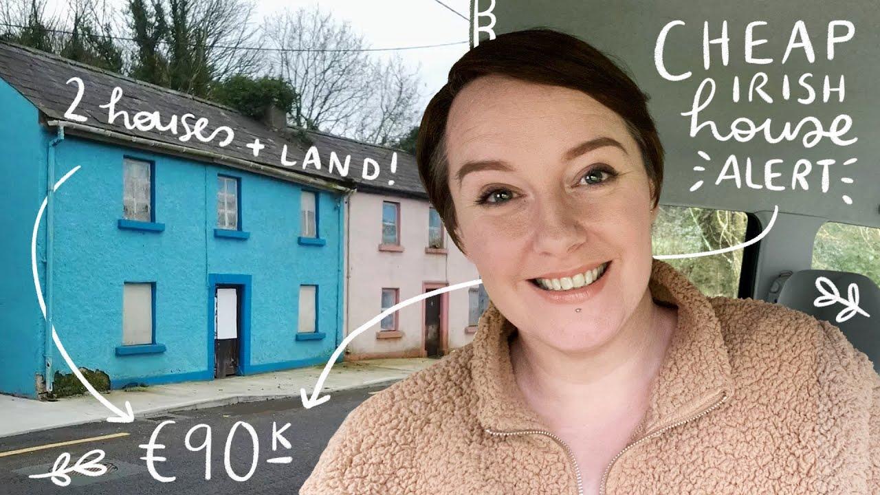 Cheap Irish House Alert! 2 Houses + 1.5 acres for €90k