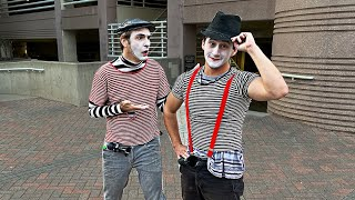 BECOMING A MIME FOR A DAY (w/ Mr.Nick)