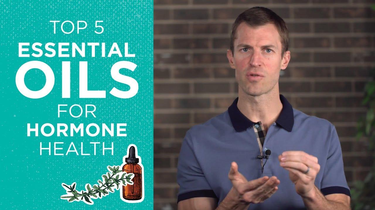 Top 5 Essential Oils to Support Hormone Health | Balance Hormones Naturally | Dr. Josh Axe