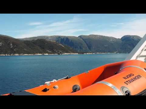 Sognefjord Bergen to Balestrand by Norled express boat