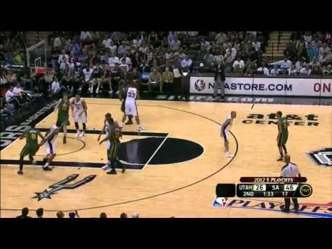 Spurs 20-0 Run Vs. Jazz (2012 Playoffs)