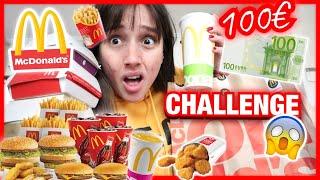 100 € MCDonald's Challenge | Marianna Grfld