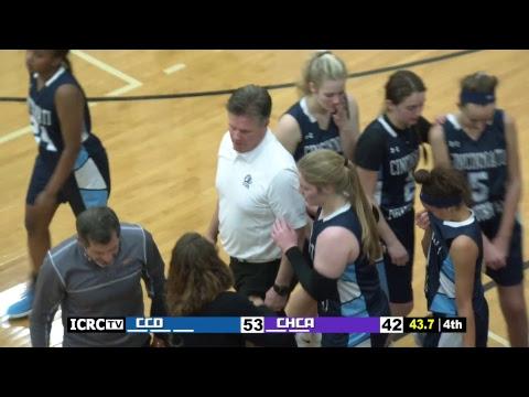 Girls Varsity Basketball - Cincinnati Country Day at Cincinnati Hills Christian Academy