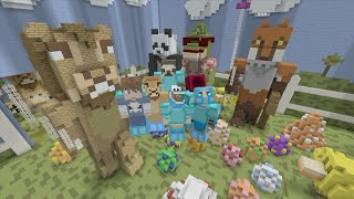 Minecraft XBOX Hide and Seek - Easter Celebration! W/ LionMaker and friends + DOWNLOAD!