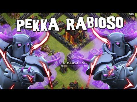 Cuando rabiar la PEKKA en un GoWiPe | Ataques | Clash of Clans