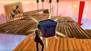 Catching A Supply Drop Mid-Air [Fortnite]