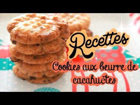 recette-♡-cookies-aux-beurre-de-cacahuètes-!-très-facile-!