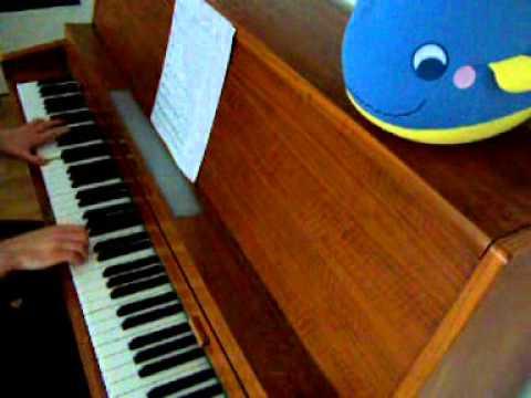 Die Siedler 1 (Settlers 1) Hintergrundmusik auf dem Klavier :D