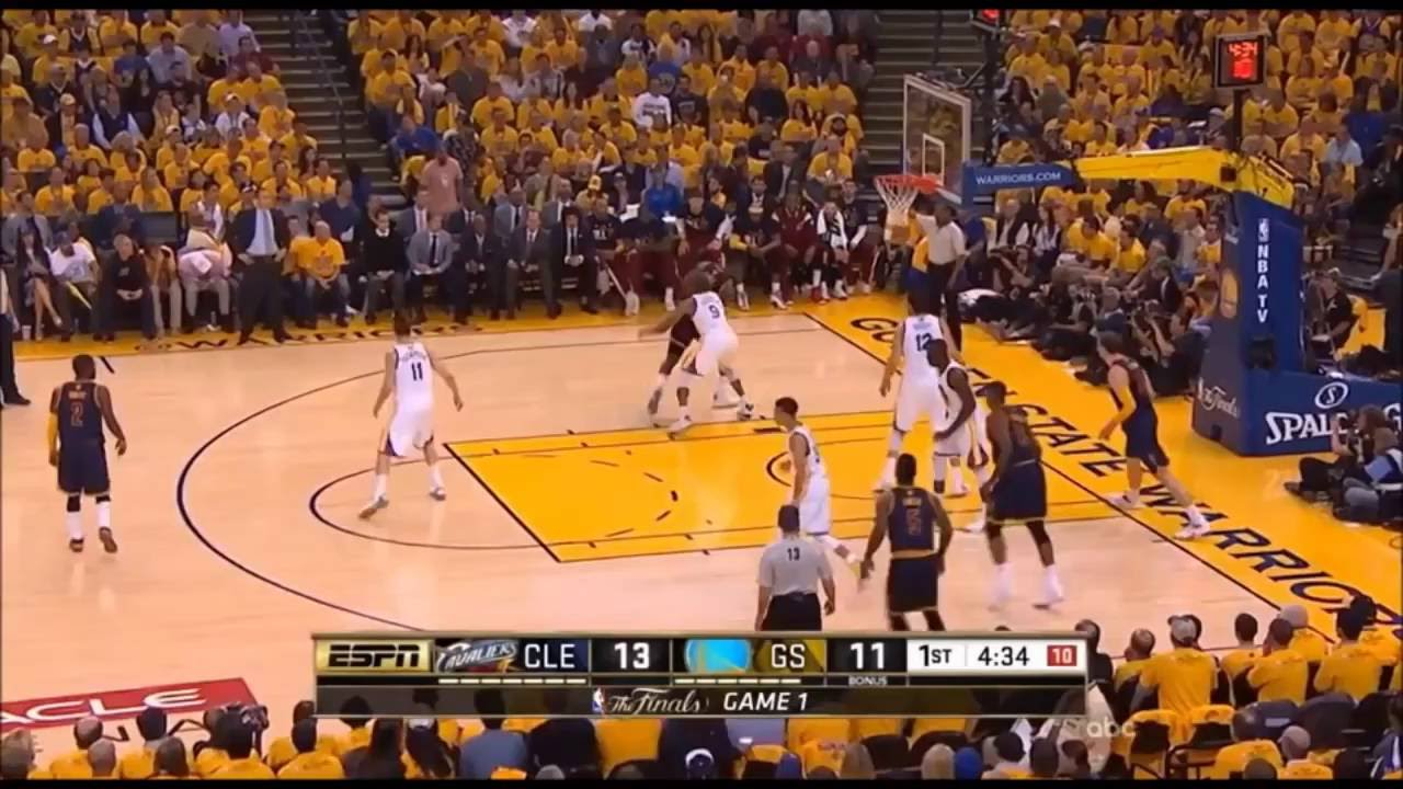 202e3a0b30ea Andre Iguodala Teaches How to Guard LeBron James (Finals Highlights) -  YouTube