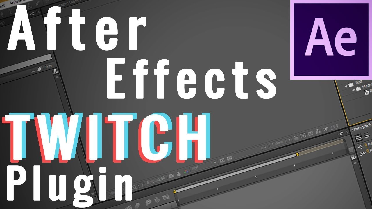 Adobe After Effects Twitch Effect