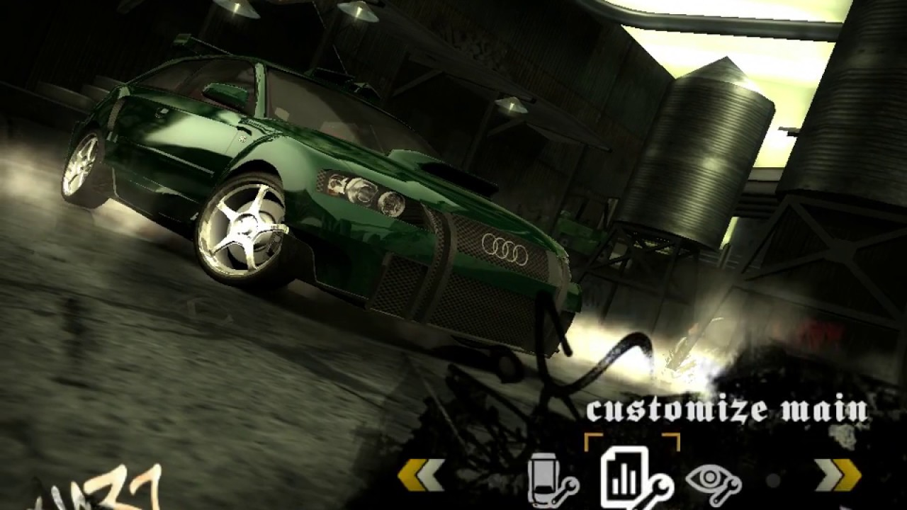 Need For Speed Most Wanted Audi A3 Tuning #6