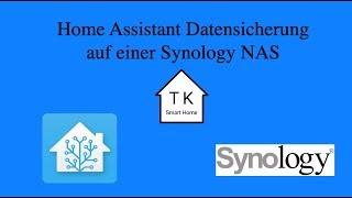 Home Assistant Datensicherung auf eine Synology NAS (deutsch)