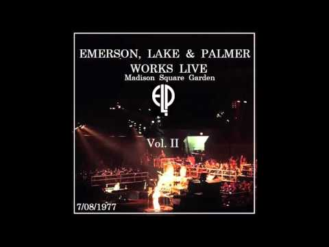 Emerson, Lake & Palmer (ELP) Live at MSG Night Two 7/08/1977 With Orchestra