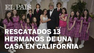Detenida una pareja en California que tenía a sus 13 hijos encadenados y desnutridos | Internacional