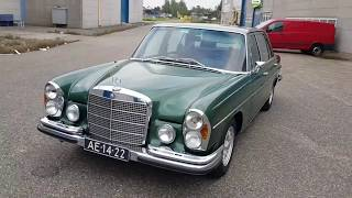 Mercedes benz W109 / 300 SEL / review after restoration in 1993