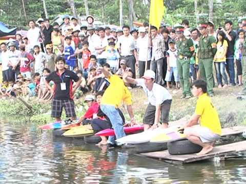Giải đua tàu cano mô hình Trà Vinh lần 1-2