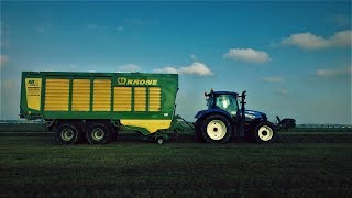 Usługi rolnicze Agro-konkret Wojciech Murawski! Zbiór traw 2017!