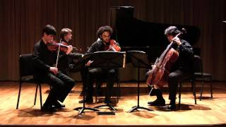Brahms Piano Quartet in c minor op. 60, III. Andante - Colburn Piano Quartet