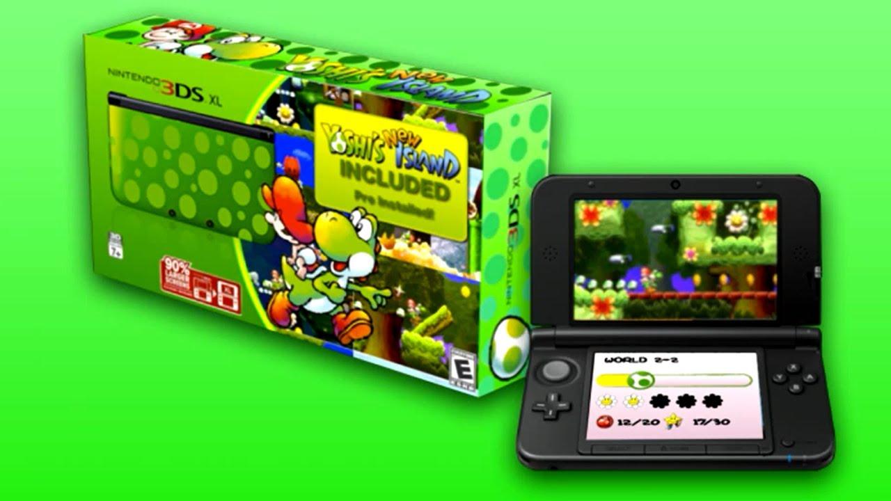 Nintendo News: Yoshi's New Island 3DS XL + Sonic Boom TV Show & Game