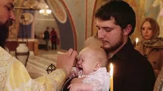 Клип с крещения Артёма   Храм Покрова Пресвятой Богородицы в Ясенево