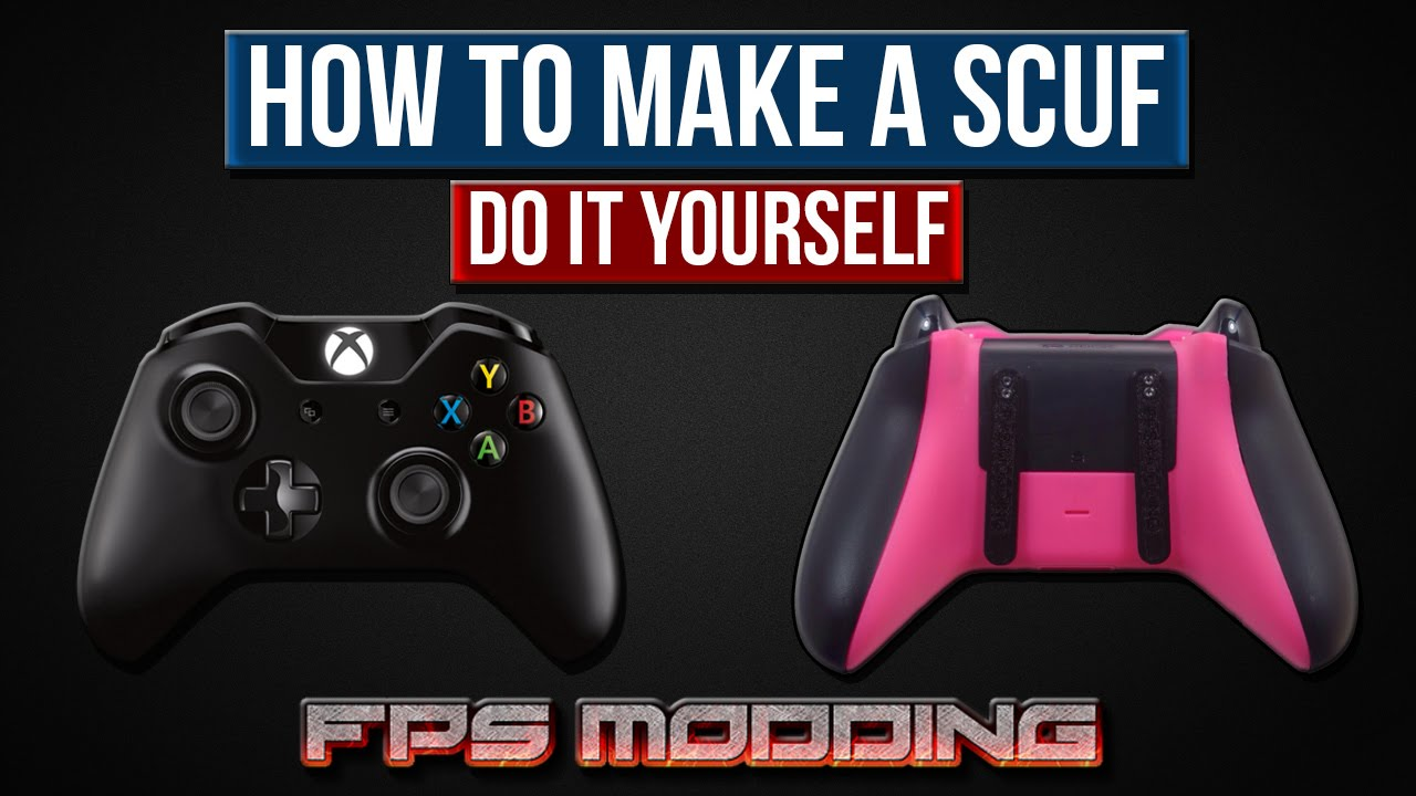How to make a scuf xbox one controller by fps modding youtube how to make a scuf xbox one controller by fps modding solutioingenieria Image collections